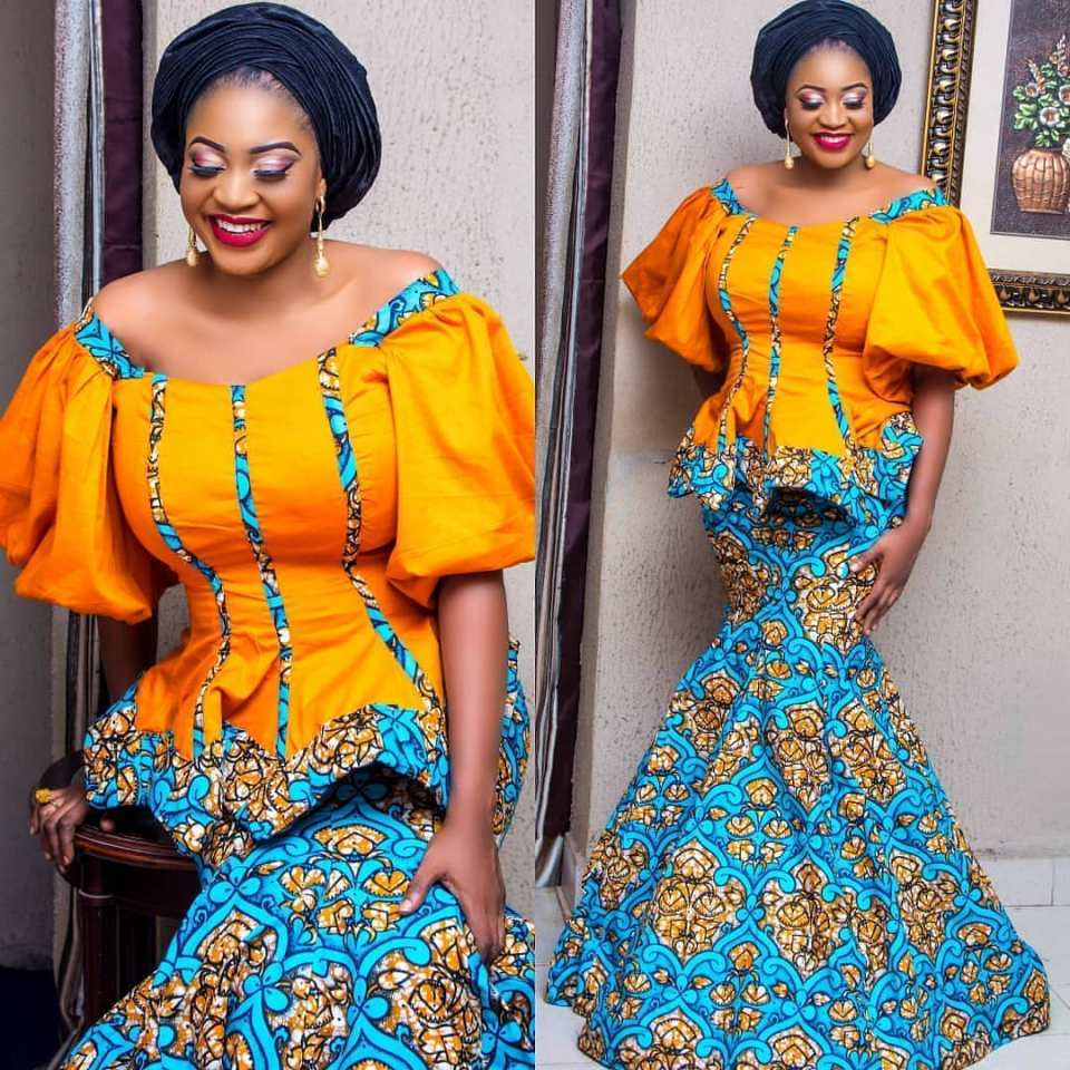African Ankara Styles And Dresses
