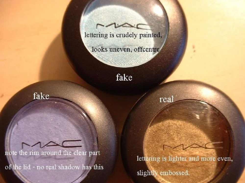 How to identify fake beauty products