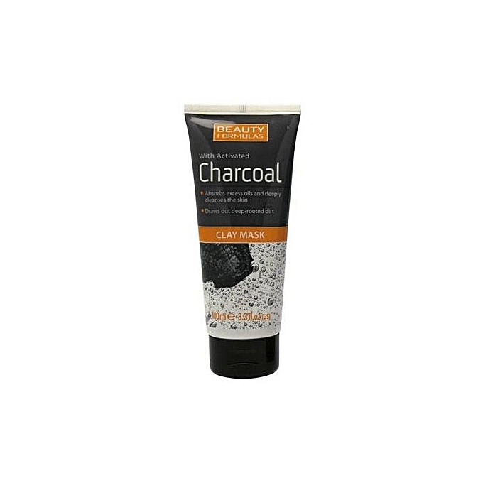 Activated charcoal works for oily skin