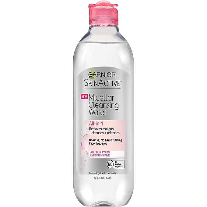 Micellar Water works for oily skin