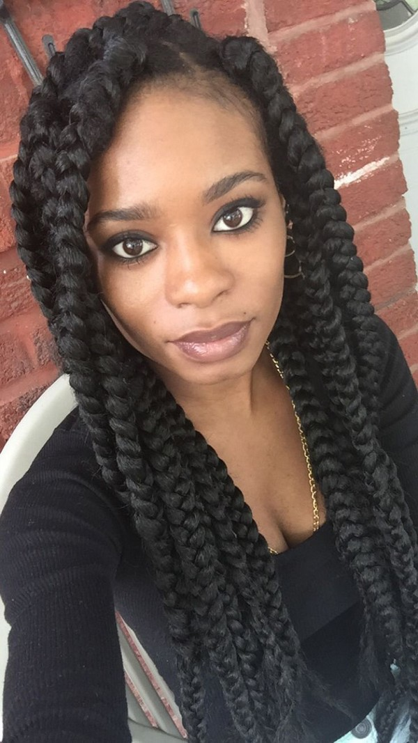 How Many Packs Of Hair For Poetic Justice Braids