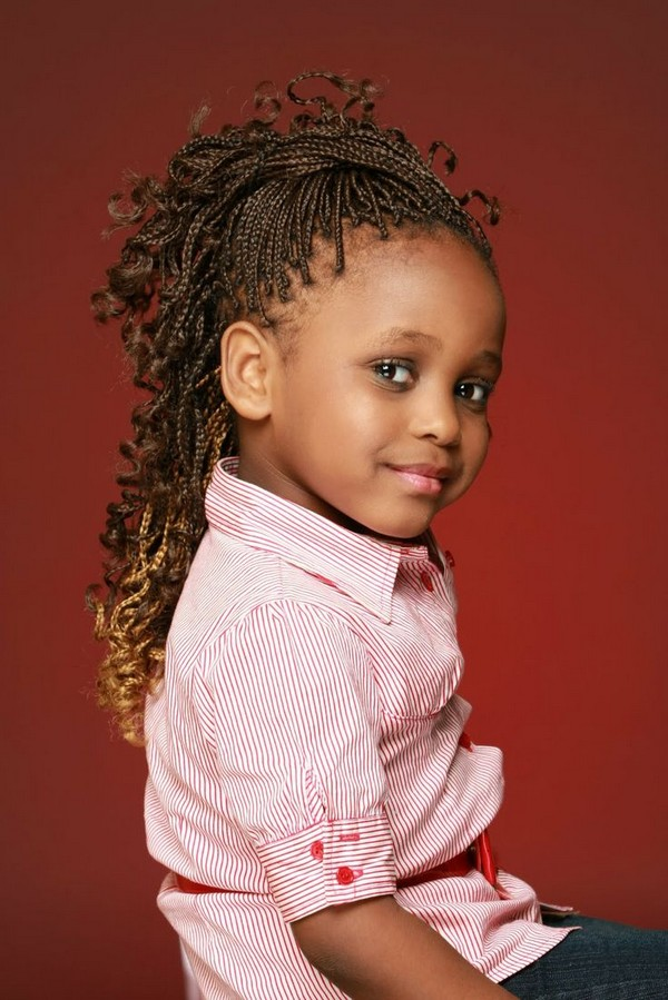 Braids For Kids With Beads