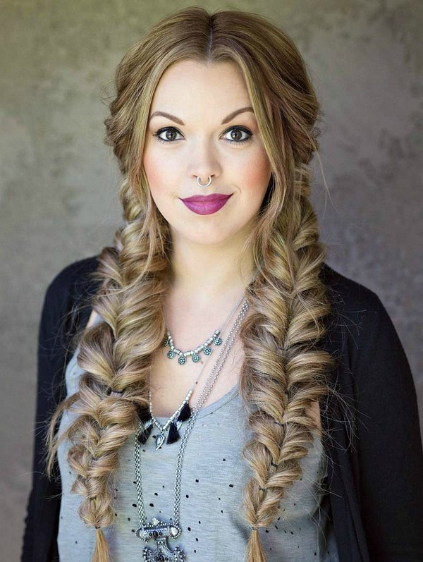 How To Do Two Braids Styles On Yourself