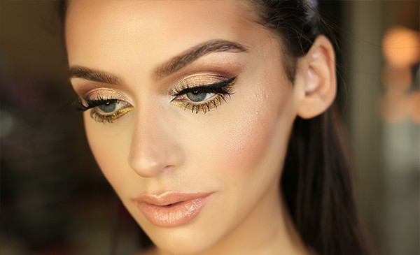 Silver Prom Makeup