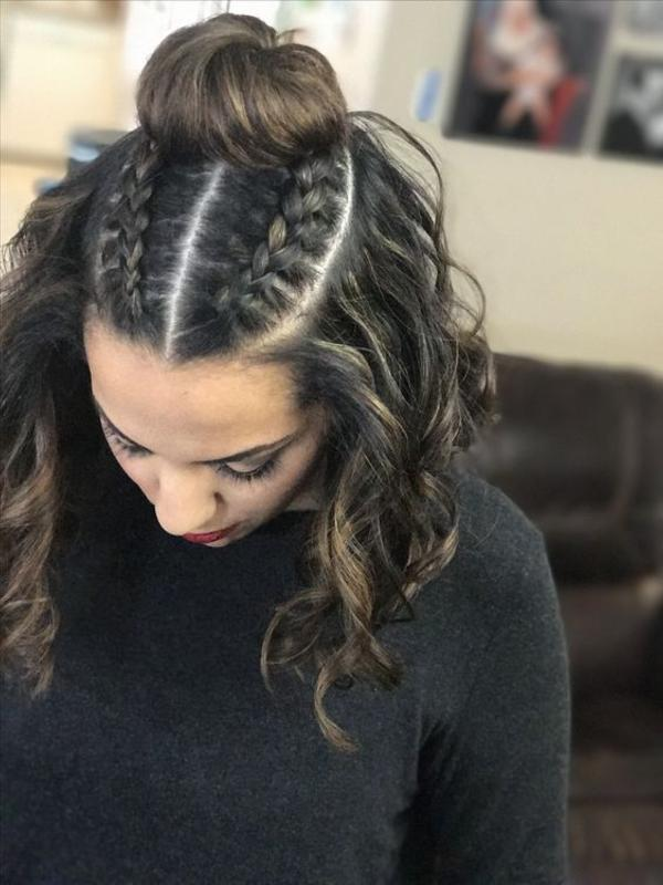 Two Feed In Braids