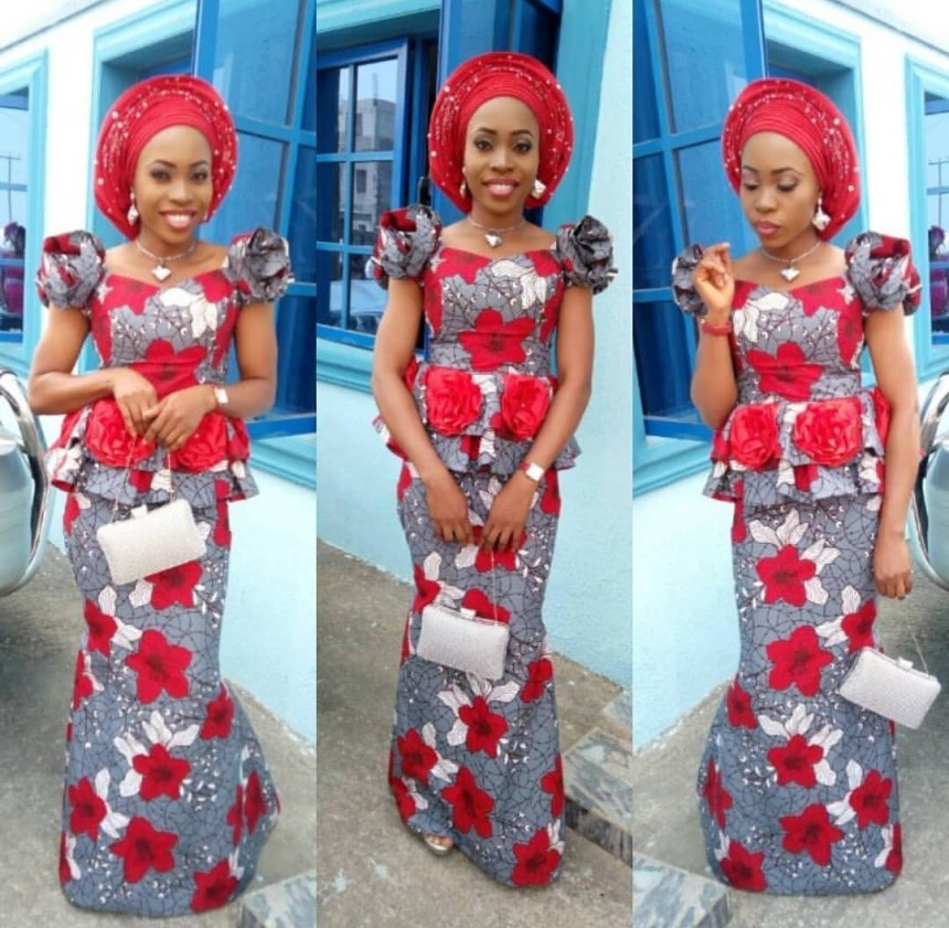 Cute Ankara Skirt & Blouse Styles