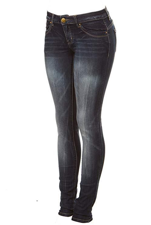 Womens-Plus-Size-Skinny-Butt-Shaping-jeans