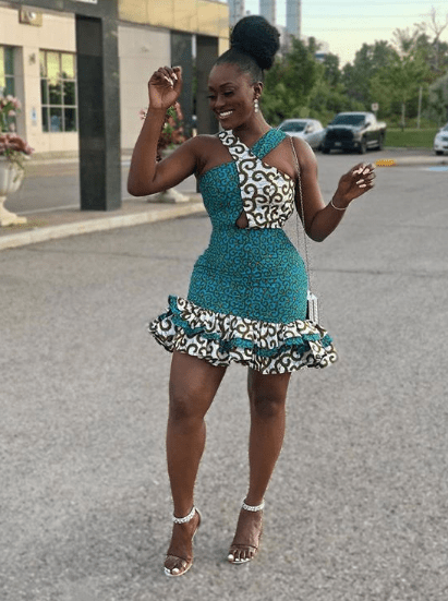 2020 Short African Fashion Dresses