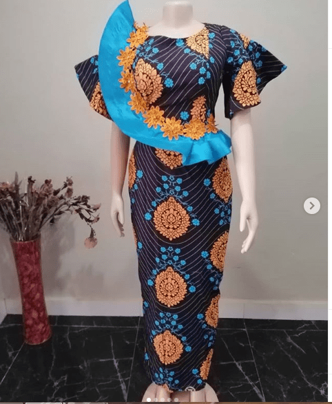 Ankara Style Dresses For The Pretty Ladies: 2019 African Fashion Styles - ankara-styles