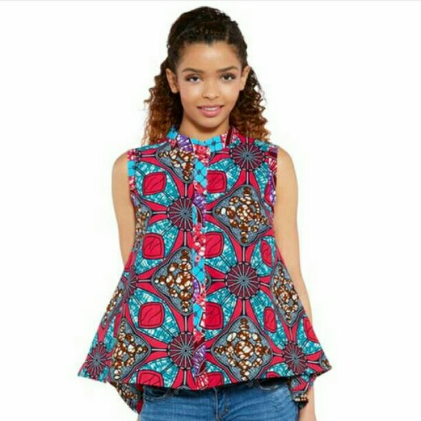 ankara style for kids