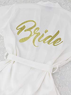 Bride robe DF-deals Women's Satin Kimono Robe for Bridesmaid and Bride Wedding Party Getting Ready Short Robe with Gold Glitter  - 1571868983 806 DF deals Womens Satin Kimono Robe for Bridesmaid and Bride Wedding - DF-deals Women's Satin Kimono Robe for Bridesmaid and Bride Wedding Party Getting Ready Short Robe with Gold Glitter