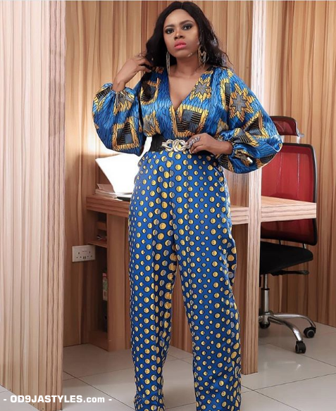 25 Ankara Designs For Women -African Dresses Styles: Trousers, Kimono, Jumpsuits and Tops ankara designs for women - 25 Ankara Designs For Women African Dresses Styles Trousers Kimono Jumpsuits and Tops 10 - 25 Ankara Designs For Women -African Dresses Styles: Trousers, Kimono, Jumpsuits and Tops