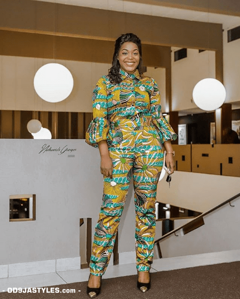 25 Ankara Designs For Women -African Dresses Styles: Trousers, Kimono, Jumpsuits and Tops ankara designs for women - 25 Ankara Designs For Women African Dresses Styles Trousers Kimono Jumpsuits and Tops 16 - 25 Ankara Designs For Women -African Dresses Styles: Trousers, Kimono, Jumpsuits and Tops