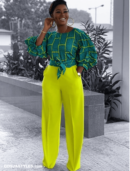 25 Ankara Designs For Women -African Dresses Styles: Trousers, Kimono, Jumpsuits and Tops ankara designs for women - 25 Ankara Designs For Women African Dresses Styles Trousers Kimono Jumpsuits and Tops 19 - 25 Ankara Designs For Women -African Dresses Styles: Trousers, Kimono, Jumpsuits and Tops