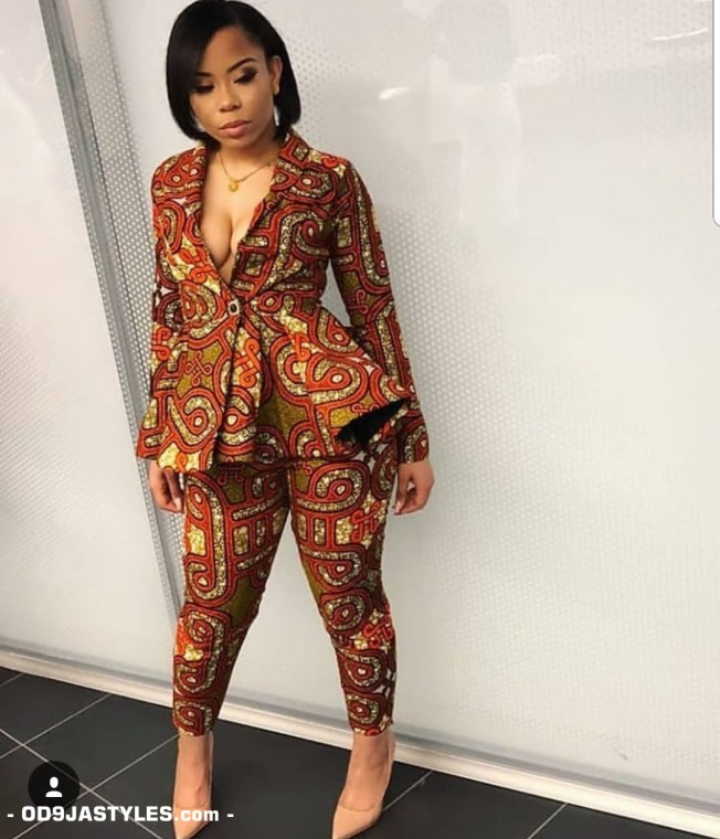 25 Ankara Designs For Women -African Dresses Styles: Trousers, Kimono, Jumpsuits and Tops ankara designs for women - 25 Ankara Designs For Women African Dresses Styles Trousers Kimono Jumpsuits and Tops 4 - 25 Ankara Designs For Women -African Dresses Styles: Trousers, Kimono, Jumpsuits and Tops