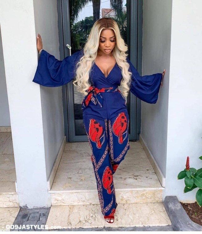 25 Ankara Designs For Women -African Dresses Styles: Trousers, Kimono, Jumpsuits and Tops ankara designs for women - 25 Ankara Designs For Women African Dresses Styles Trousers Kimono Jumpsuits and Tops 6 - 25 Ankara Designs For Women -African Dresses Styles: Trousers, Kimono, Jumpsuits and Tops