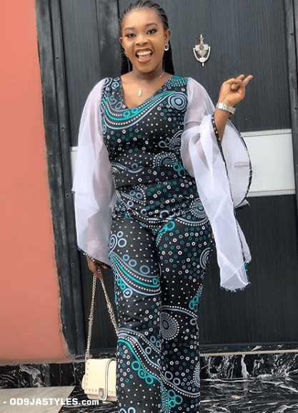25 Ankara Designs For Women -African Dresses Styles: Trousers, Kimono, Jumpsuits and Tops ankara designs for women - 25 Ankara Designs For Women African Dresses Styles Trousers Kimono Jumpsuits and Tops 7 - 25 Ankara Designs For Women -African Dresses Styles: Trousers, Kimono, Jumpsuits and Tops