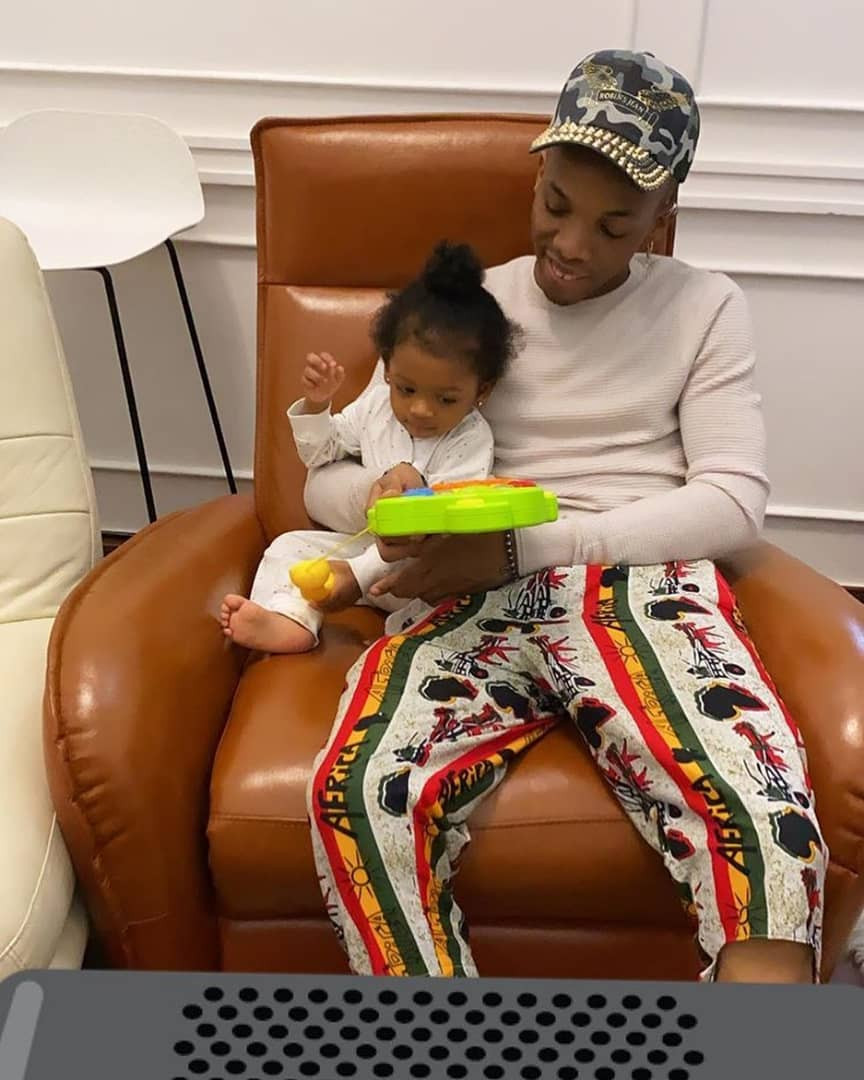 adorable photo of tekno and his daughter, skye - adorable photo of tekno and his daughter skye - Adorable photo of Tekno and his daughter, Skye