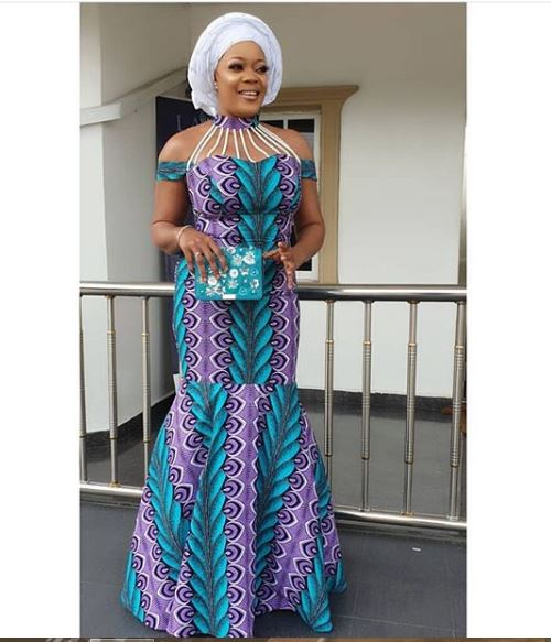 Ankara Gown Styles for Ladies ankara gown styles for ladies - Ankara Gown Styles for Ladies 19 - 50 Gorgeous Ankara Gown Styles for Ladies – Ankara Styles Pictures [2020 Trends]