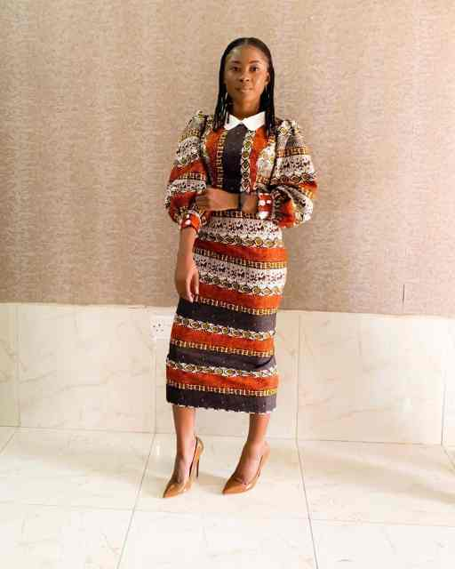 Ankara Gown Styles for Ladies ankara gown styles for ladies - Ankara Gown Styles for Ladies 13 512x640 - 50 Gorgeous Ankara Gown Styles for Ladies – Ankara Styles Pictures [2020 Trends]