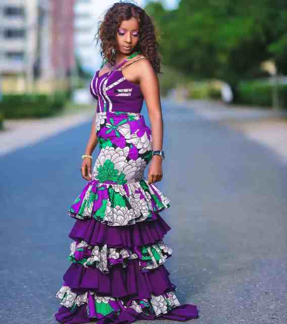 Ankara Gown Styles for Ladies ankara gown styles for ladies - Ankara Gown Styles for Ladies 3 567x640 - 50 Gorgeous Ankara Gown Styles for Ladies – Ankara Styles Pictures [2020 Trends]