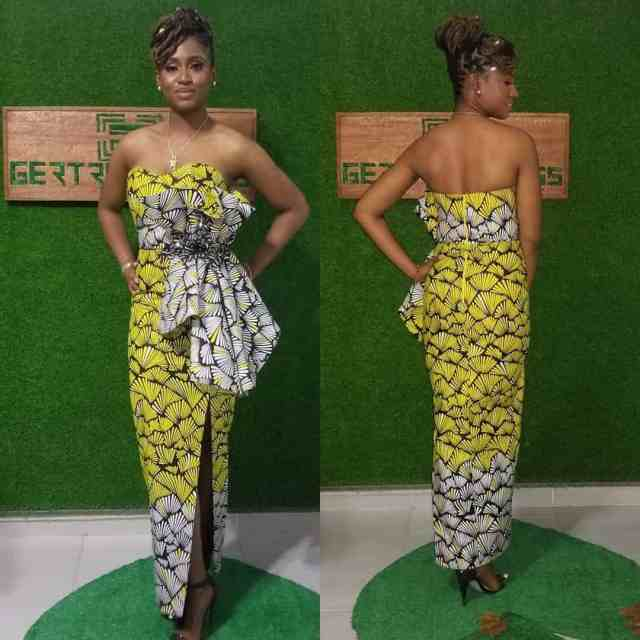 Ankara Gown Styles for Ladies ankara gown styles for ladies - Ankara Gown Styles for Ladies 7 640x640 - 50 Gorgeous Ankara Gown Styles for Ladies – Ankara Styles Pictures [2020 Trends]