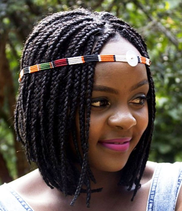 Short Braided Bob Styles for African American Women 3  - Short Braided Bob Styles for African American Women 3 - Braided Bob Hairstyle Ideas: Bob Braids Pictures – 50 Designs