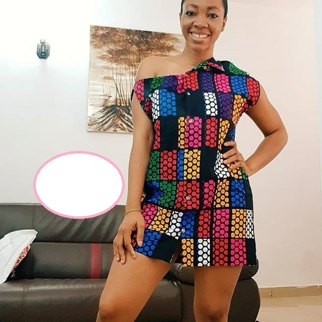 Short and Sexy Ankara Gowns