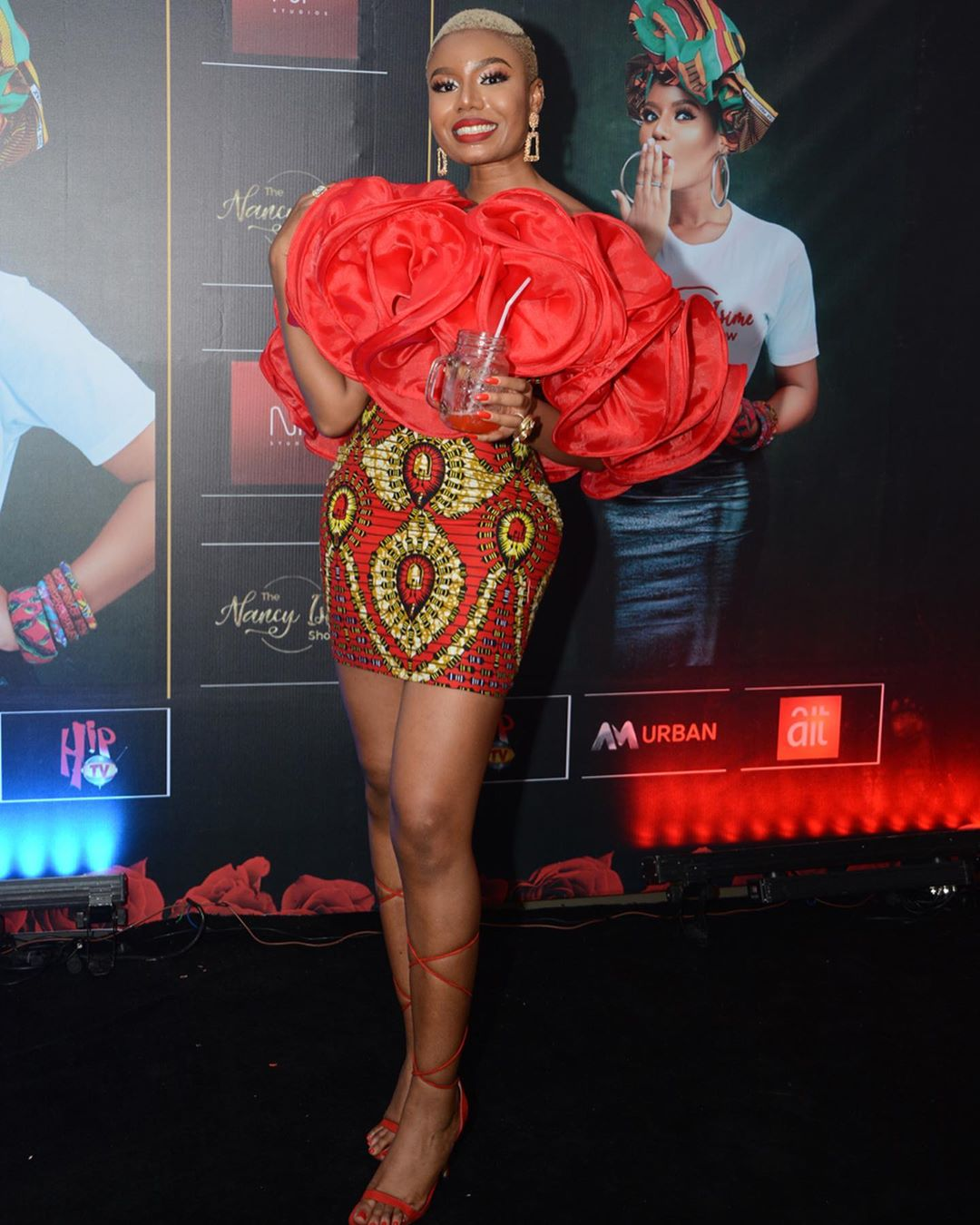 ankara-short-gown-styles-pictures-fashion-style-nancy-isime-red-dress