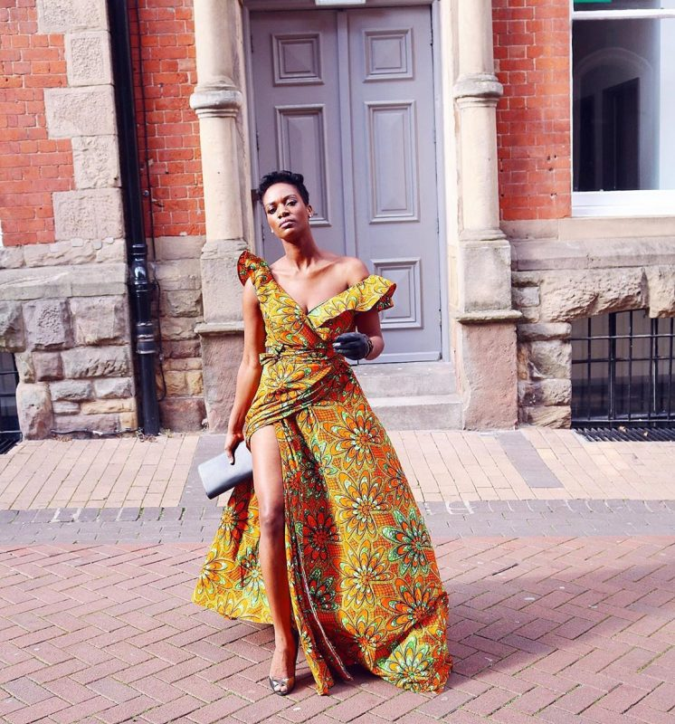 yamiko-ankara-dress-with-slit-unique-ankara-designs-every-cool-girl-would-love-style-rave