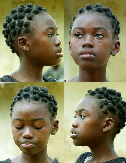 Puff puff hairstyle
