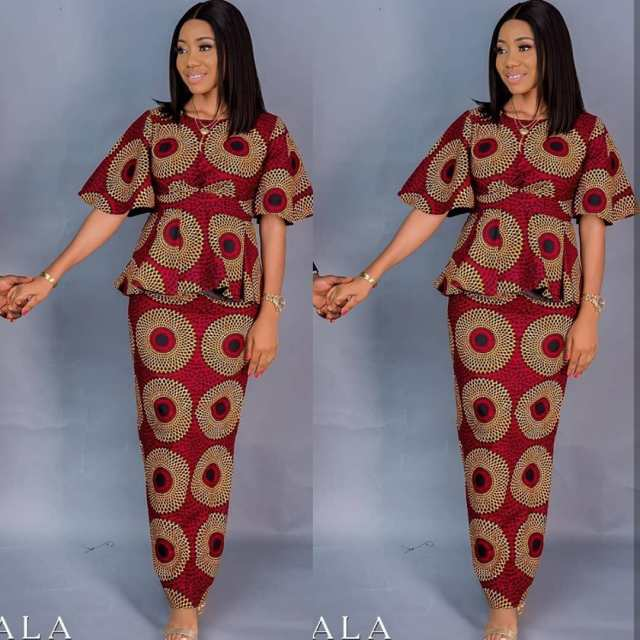Ankara Styles 2020 ankara styles 2020 - Ankara Styles 2020 od9jastyles 11 640x640 - 30 Ankara Styles 2020 For African Ladies To Try Out