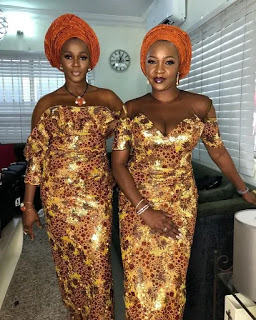 Wanna Be a Trendsetter- Checkout These Eye-popping Aso-Ebi Styles