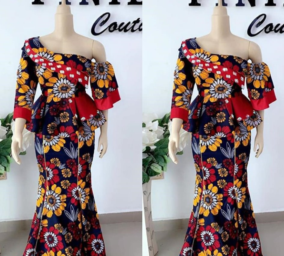 Ankara Skirt & Blouse 2020