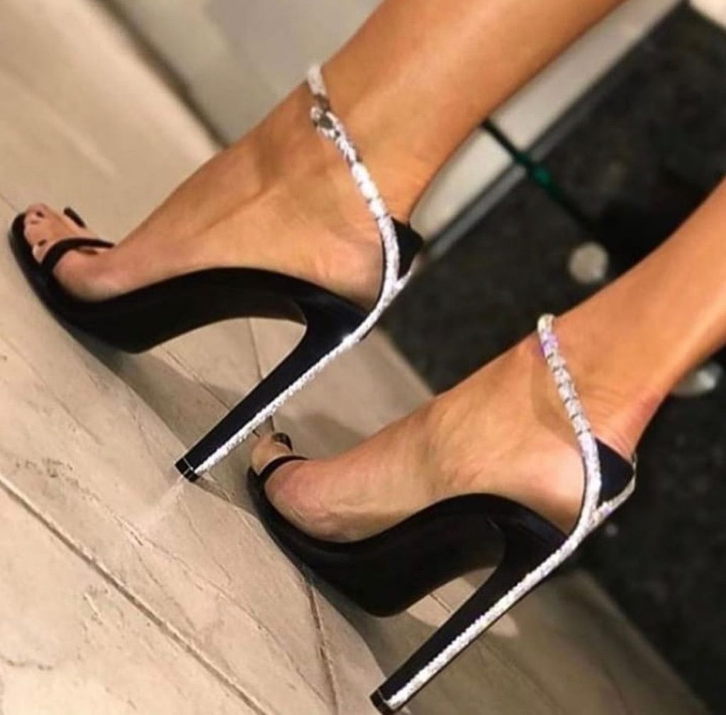black stiletto heels - Types of Shoes for Women