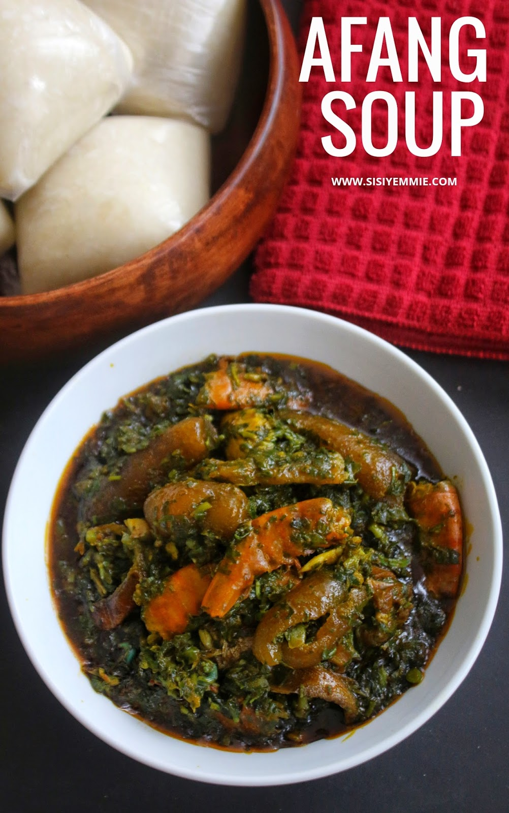 afang soup recipe by sisiyemmie - how 2Bto 2Bcook 2Bafang 2Bsoup - Afang Soup Recipe By Sisiyemmie