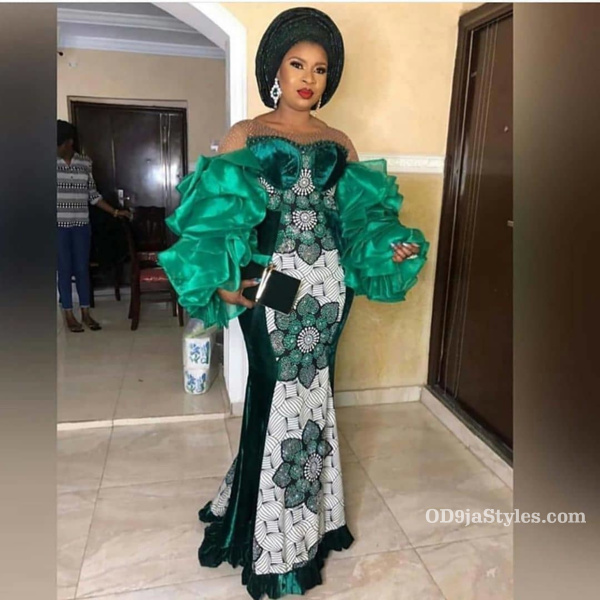long gown ankara styles pictures long gown ankara styles pictures - long gown ankara styles pictures 1 - Stunning! See The 35 Latest Long Gown Ankara Styles Pictures We Are Currently Vibing With