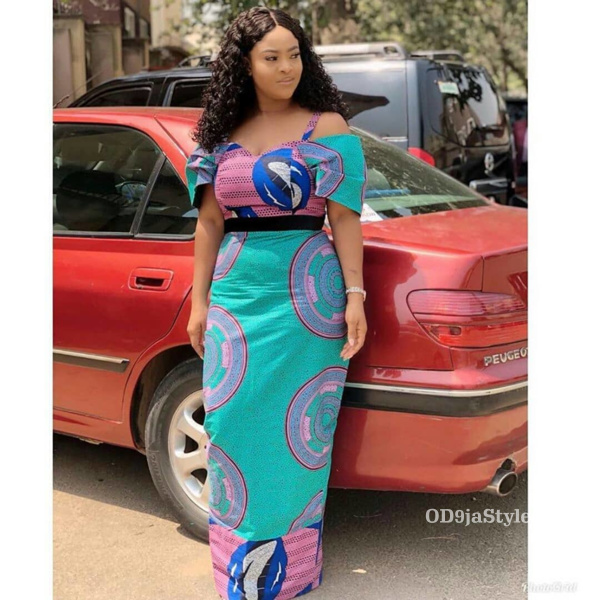 long gown ankara styles pictures long gown ankara styles pictures - long gown ankara styles pictures 13 - Stunning! See The 35 Latest Long Gown Ankara Styles Pictures We Are Currently Vibing With