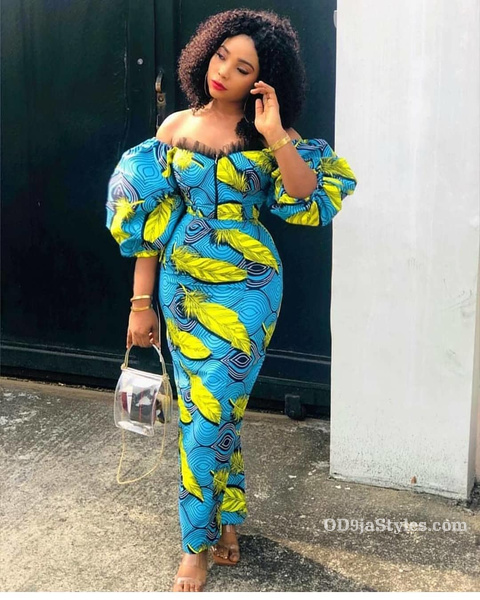 long gown ankara styles pictures long gown ankara styles pictures - long gown ankara styles pictures 15 - Stunning! See The 35 Latest Long Gown Ankara Styles Pictures We Are Currently Vibing With