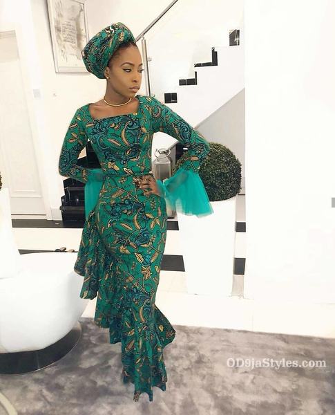 long gown ankara styles pictures long gown ankara styles pictures - long gown ankara styles pictures 17 - Stunning! See The 35 Latest Long Gown Ankara Styles Pictures We Are Currently Vibing With