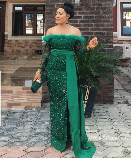 long gown ankara styles pictures long gown ankara styles pictures - long gown ankara styles pictures 2 - Stunning! See The 35 Latest Long Gown Ankara Styles Pictures We Are Currently Vibing With
