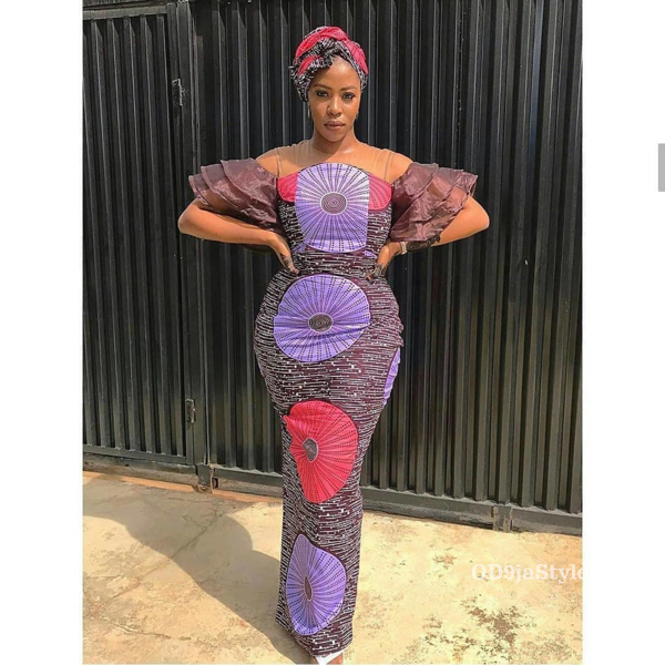 long gown ankara styles pictures long gown ankara styles pictures - long gown ankara styles pictures 21 - Stunning! See The 35 Latest Long Gown Ankara Styles Pictures We Are Currently Vibing With