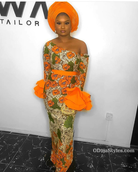 long gown ankara styles pictures long gown ankara styles pictures - long gown ankara styles pictures 22 - Stunning! See The 35 Latest Long Gown Ankara Styles Pictures We Are Currently Vibing With