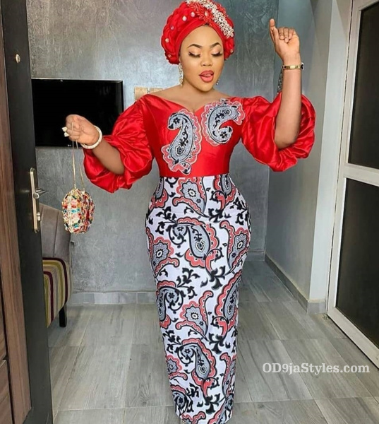 long gown ankara styles pictures long gown ankara styles pictures - long gown ankara styles pictures 23 - Stunning! See The 35 Latest Long Gown Ankara Styles Pictures We Are Currently Vibing With
