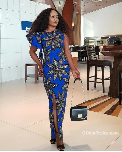 long gown ankara styles pictures long gown ankara styles pictures - long gown ankara styles pictures 24 - Stunning! See The 35 Latest Long Gown Ankara Styles Pictures We Are Currently Vibing With