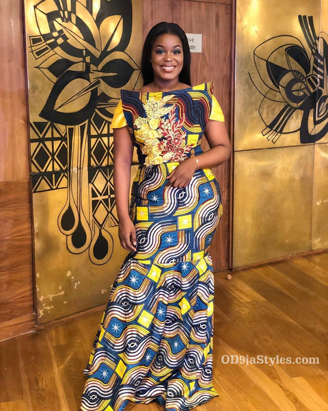 long gown ankara styles pictures long gown ankara styles pictures - long gown ankara styles pictures 25 - Stunning! See The 35 Latest Long Gown Ankara Styles Pictures We Are Currently Vibing With