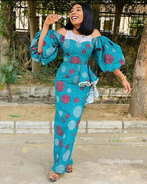 long gown ankara styles pictures long gown ankara styles pictures - long gown ankara styles pictures 26 - Stunning! See The 35 Latest Long Gown Ankara Styles Pictures We Are Currently Vibing With