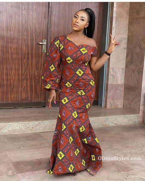 long gown ankara styles pictures long gown ankara styles pictures - long gown ankara styles pictures 27 - Stunning! See The 35 Latest Long Gown Ankara Styles Pictures We Are Currently Vibing With