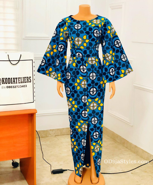 long gown ankara styles pictures long gown ankara styles pictures - long gown ankara styles pictures 28 - Stunning! See The 35 Latest Long Gown Ankara Styles Pictures We Are Currently Vibing With