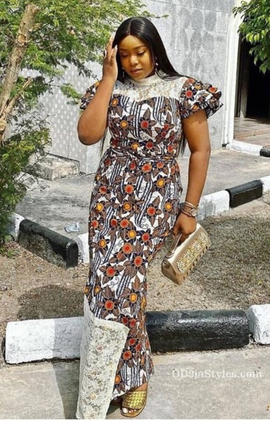 long gown ankara styles pictures long gown ankara styles pictures - long gown ankara styles pictures 3 - Stunning! See The 35 Latest Long Gown Ankara Styles Pictures We Are Currently Vibing With